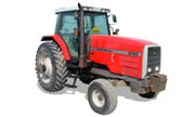Massey Ferguson 8140 tractor photo