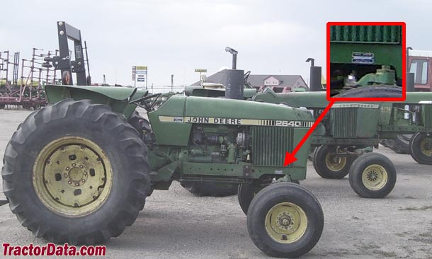92 td3serial tractordata com john deere 2640 tractor information John Deere 2240 Wiring-Diagram at n-0.co