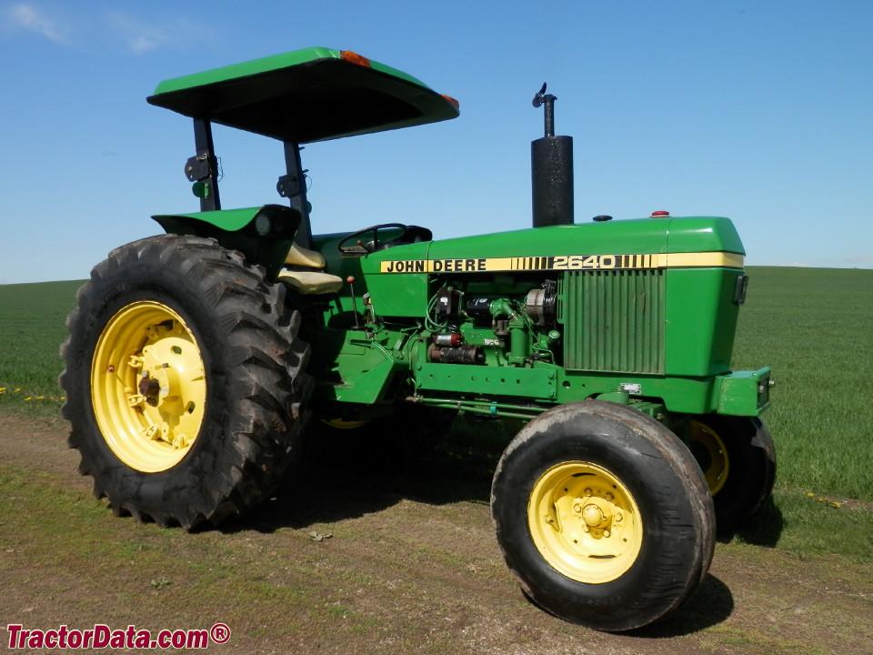 TractorData.com John Deere 2640 tractor photos inf