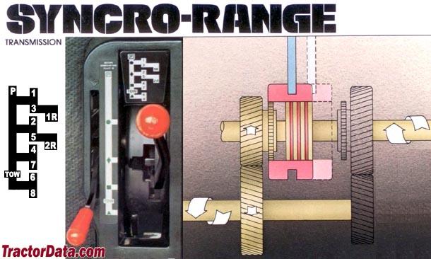 John Deere 4240 Syncro-Range transmission photo