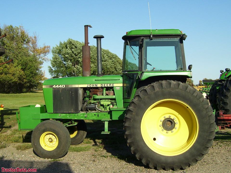 Two-wheel drive John Deere 4440.