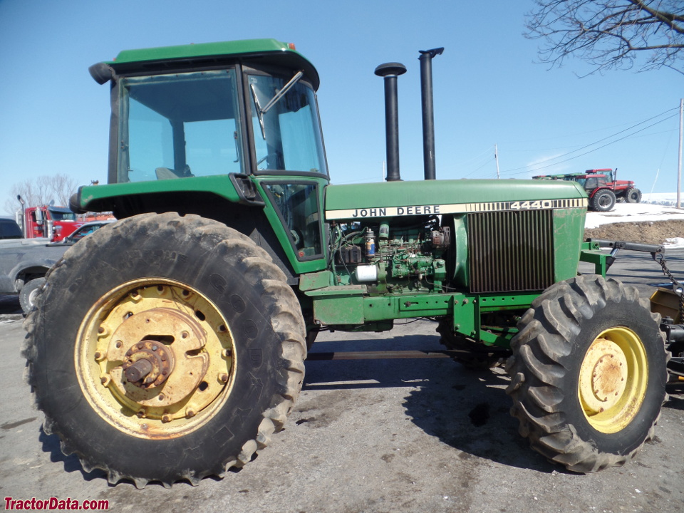 John Deere 4440 with front-wheel assist.