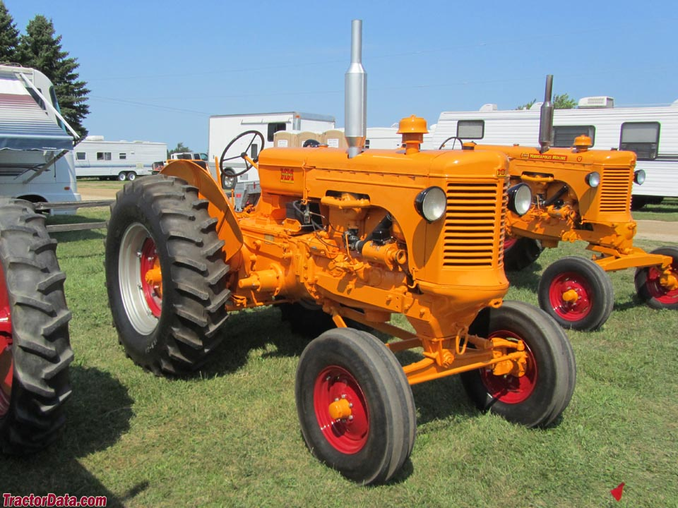 Tractordata Com Minneapolis Moline Uts Tractor Photos Information