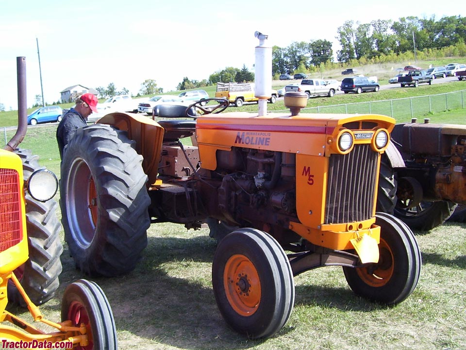 Minneapolis-Moline M-5 with solid front axle.