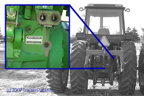John Deere 4640 serial number location