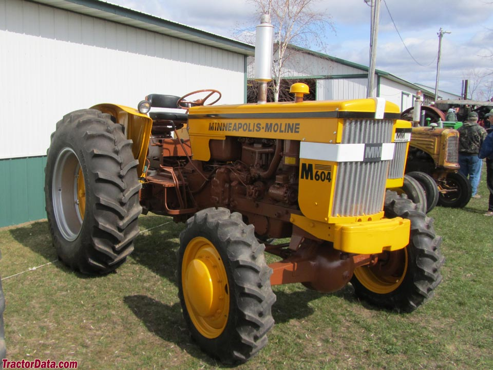 Tractordata Com Minneapolis Moline M 604 Tractor Photos Information