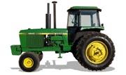 John Deere 4840 tractor photo