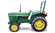 John Deere 850 tractor photo