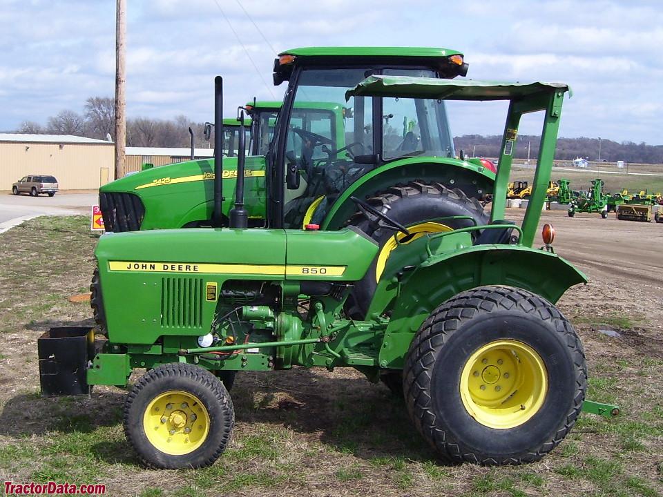 TractorData.com John Deere 850 tractor photos info