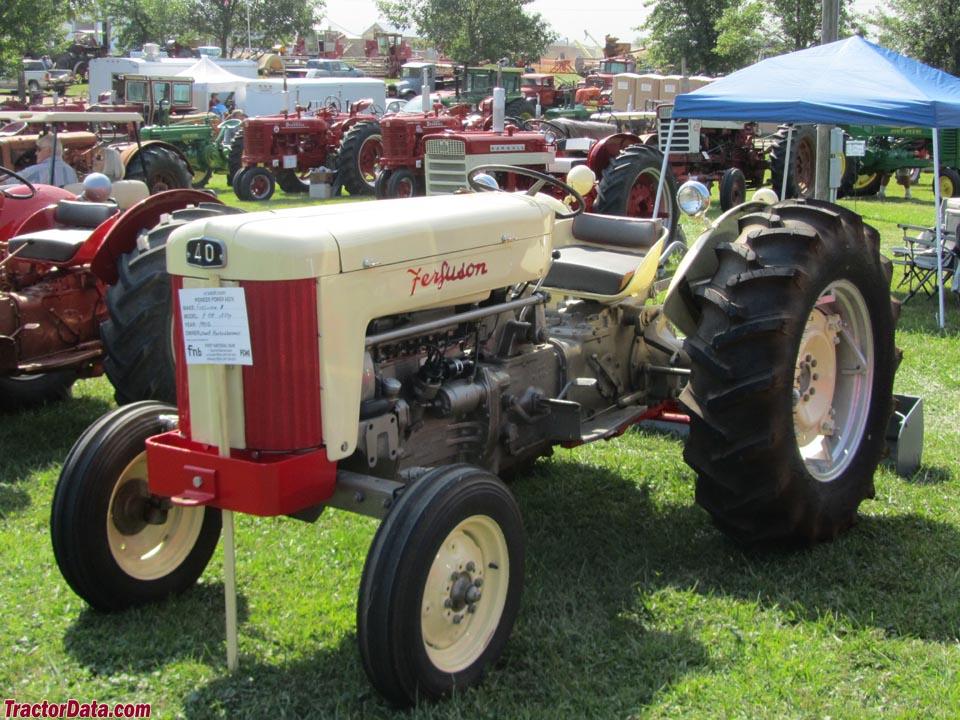 1956 Massey Ferguson 40 Tractor : Tractordata ferguson f tractor photos information
