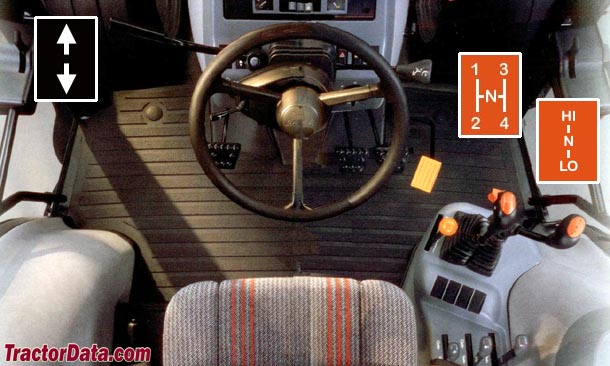 CaseIH CX70  transmission photo