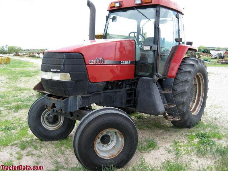 Case Tractor Mx110 : Tractordata caseih mx maxxum tractor photos information