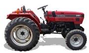 CaseIH 245 tractor photo