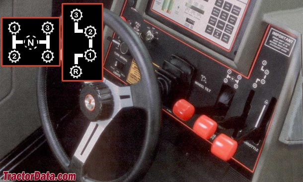 CaseIH 4494 partial power shift transmission photo