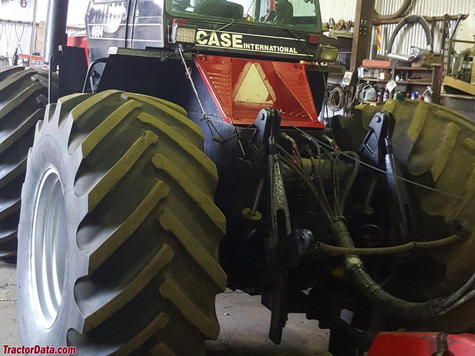 Case IH 4694, rear view.