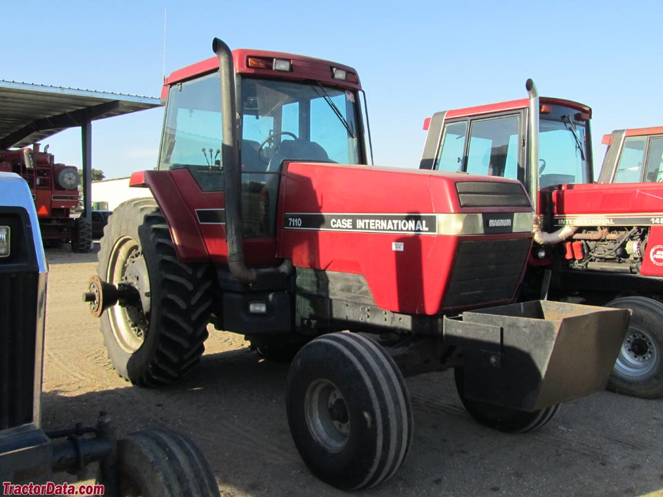 Two-wheel drive Case IH Magnum 7110, right side.
