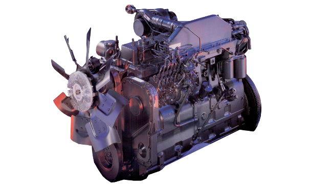 CaseIH 7240  engine photo