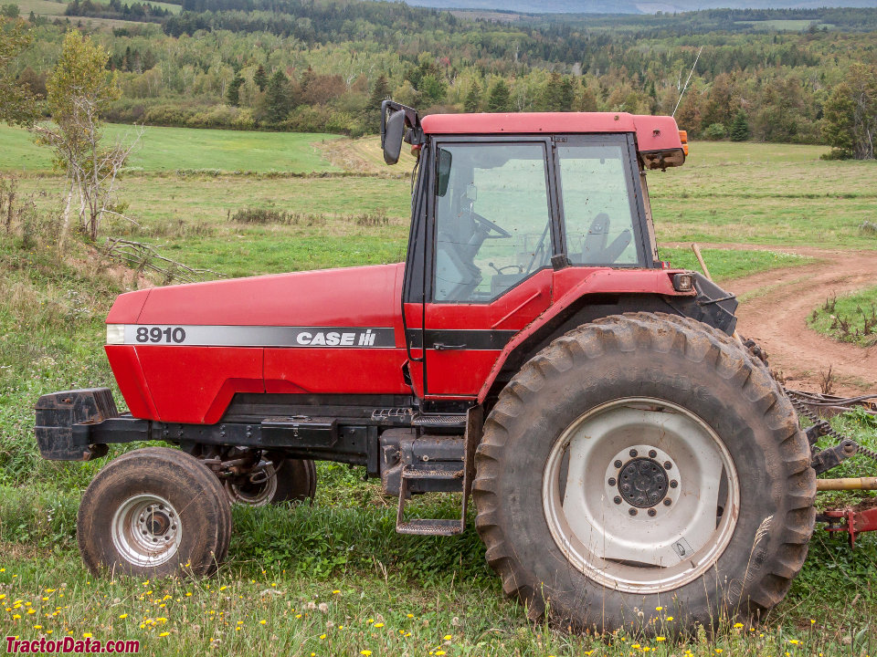 Case IH 8910 with two-wheel drive.