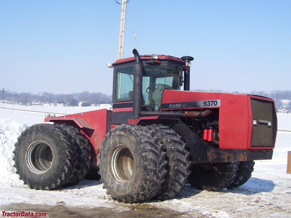 Case IH 9370, right side