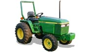 John Deere 790 tractor photo