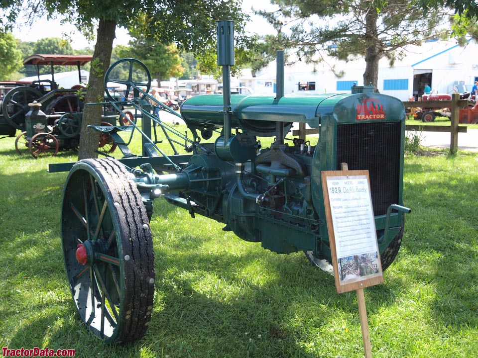 Advance-Rumely Do-All in motor-cultivator configuration.