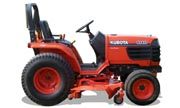 Kubota B2410 tractor photo