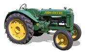 John Deere BR tractor photo