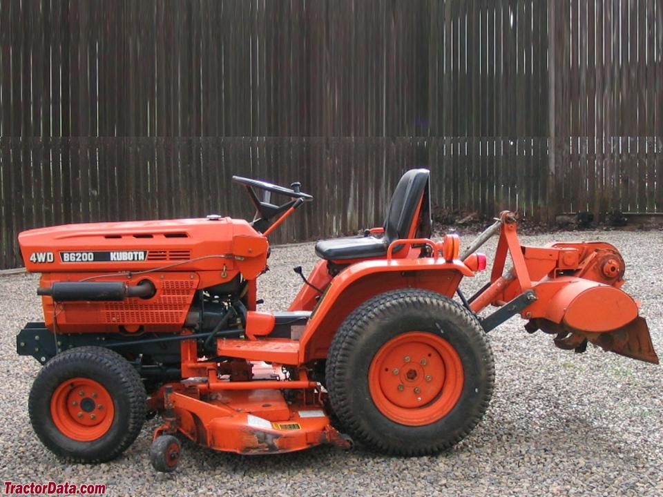 Tractordata Com Kubota B6200 Tractor Photos Information