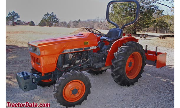 kubota l295 tractor photos information. Black Bedroom Furniture Sets. Home Design Ideas