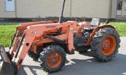 Kubota L355 tractor photo