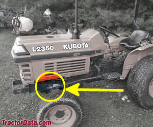 TractorData com Kubota L2350 tractor information