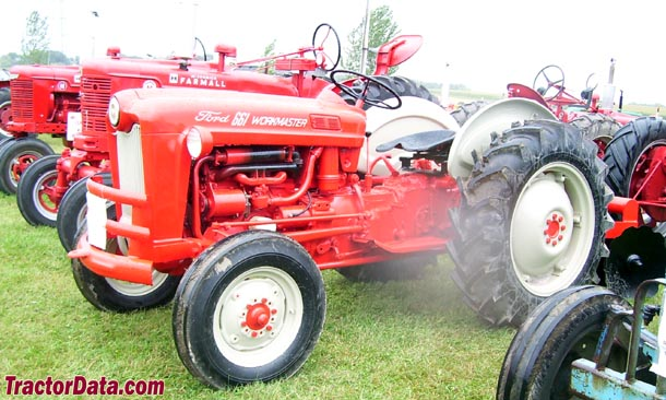 Ford 601 Workmaster Specifications : Tractordata ford tractor photos information