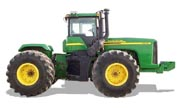 John Deere 9520 tractor photo