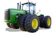 John Deere 9320 tractor photo