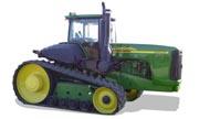 John Deere 9520T tractor photo