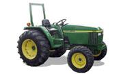 John Deere 990 tractor photo