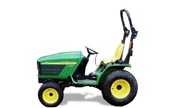 John Deere 4110 tractor photo