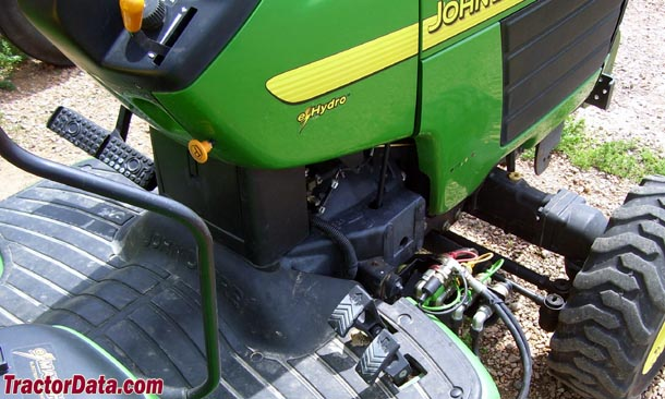 John Deere 4210 eHydro transmission photo