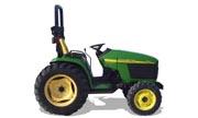 John Deere 4310 tractor photo