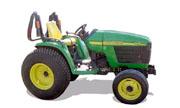 John Deere 4410 tractor photo