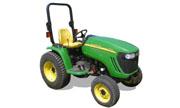 John Deere 3120 tractor photo