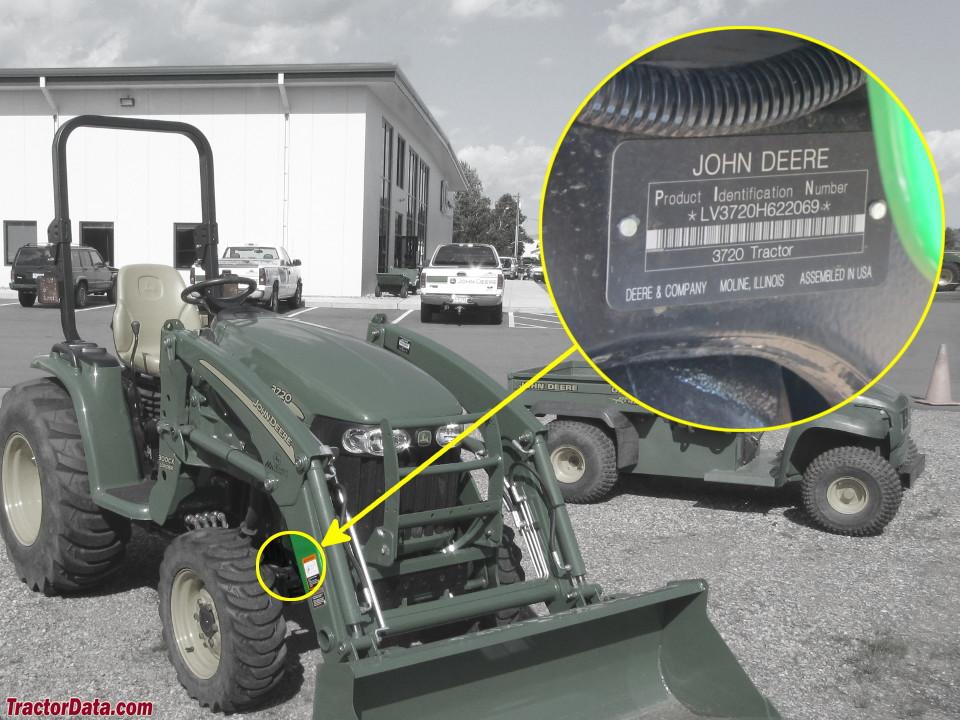 TractorData com John Deere 3720 tractor information