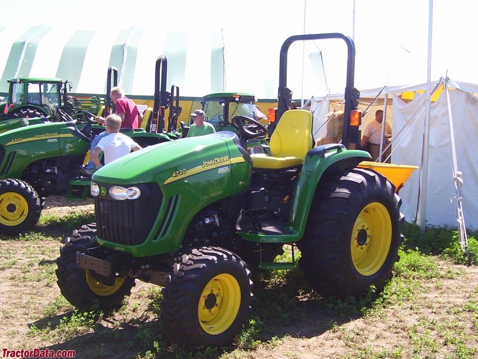 Tractordata Com John Deere 4720 Tractor Photos Information