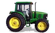 John Deere 6420 tractor photo