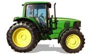 John Deere 7320 tractor photo