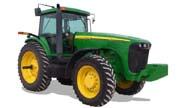 John Deere 8120 tractor photo