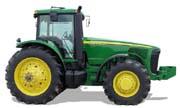 John Deere 8320 tractor photo