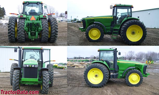John Deere 8320 walk around photo