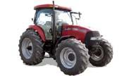 CaseIH MXU125 tractor photo