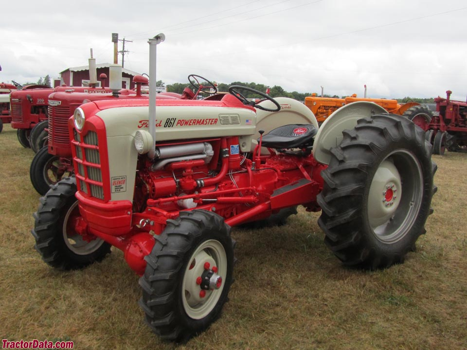 Ford Powermaster Tractor : Tractordata ford powermaster tractor photos